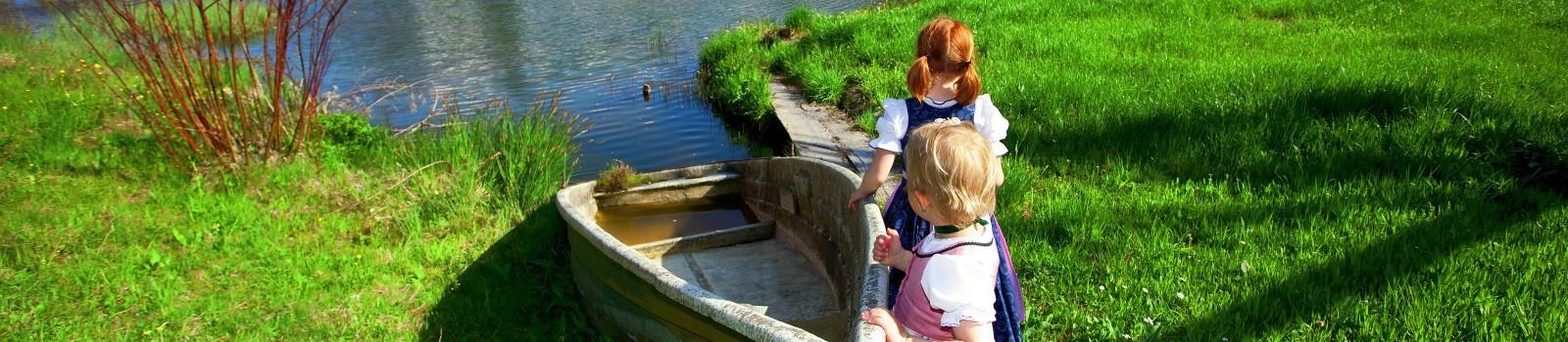 Urlaub mit Kindern im Haus Almblick
