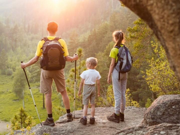 Bergwandern mit der Familie