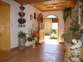 Eingangsbereich im Haus Almblcik